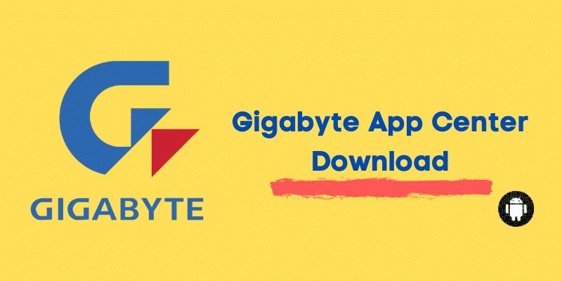 Gigabyte App Center Download