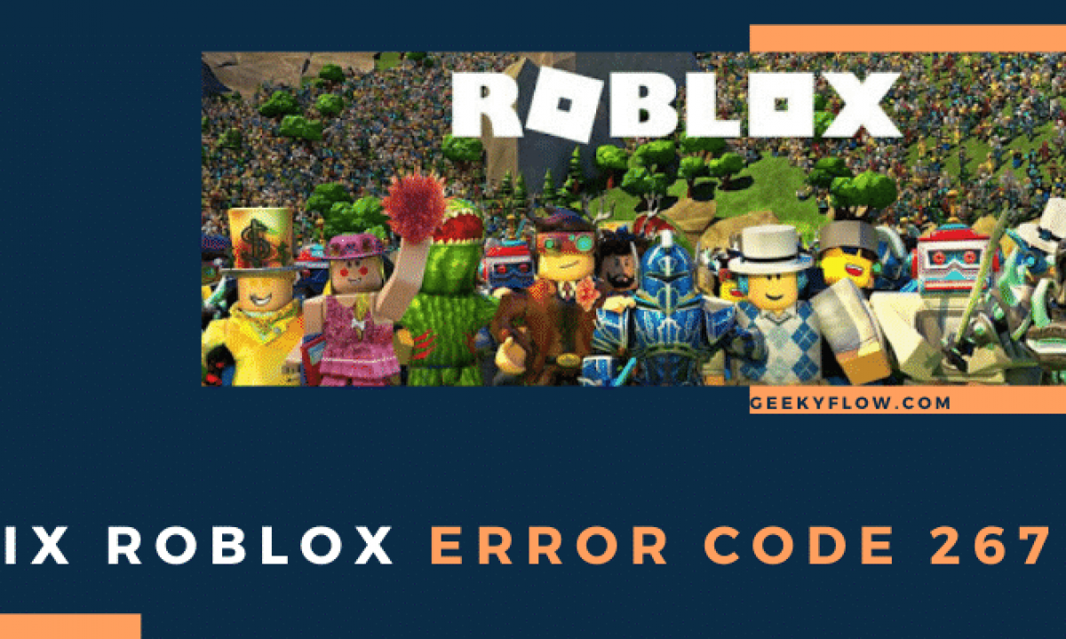 How To Fix Error Code 267 Roblox Youtube Solved Fix Roblox Error Code 267 Quickly Permanent Fix