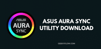Asus Aura Sync Utility Download