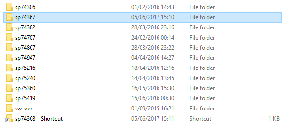 swsetup folder
