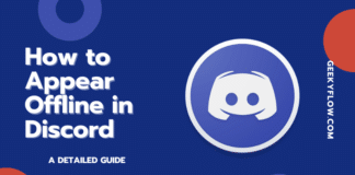 How to Appear Offline in Discord