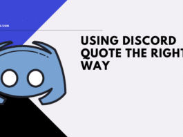 Using Discord Quote The Right Way