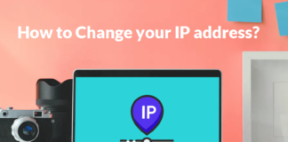 Change your IP Address