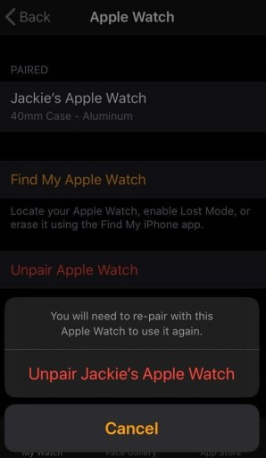 how to pair apple watch with iphone