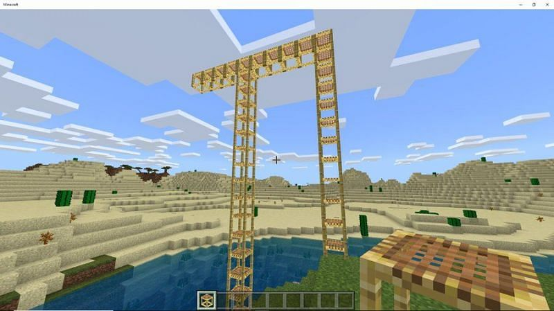 How To Make Scaffold In Minecraft?