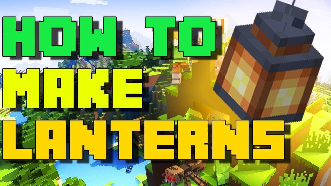 How To Make Lantern In Minecraft?